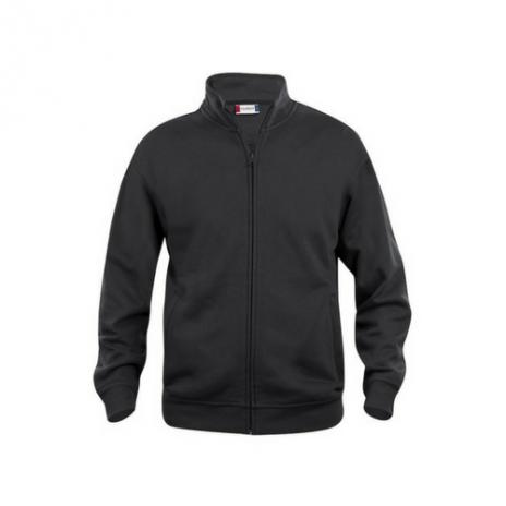 Basic Micro Fleece Jacket Ladies - sort